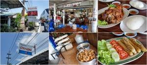 ขาหมูหมั่นโถ ร้านประนอม อยู่ก่อนถึงแยกไปปราจีนบุรี ร้านนี้ขาหมูอร่อยกับหมั่นโถวก้อนโตและมีรสหวาน ถ้าผ่านช่วงเวลามื้ออาหารแนะนำให้ลองแวะชิมดูครับ