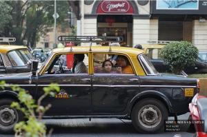 เด็กน้อยบนแทกซี่