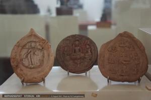 พระดินปั้น ศิลปะศรีวิชัยสมัยพุทธศตวรรษ 13-15
