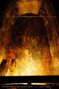 ของข้างในอยู่ในพิพิธภัณฑ์หมดแล้ว มีภาพเขียนโบราณให้ดูอยู่