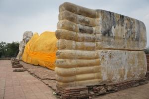 รอยคราบจากน้ำท่วมปลายปี พ.ศ. 2554