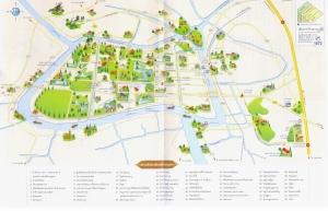 แผนที่ท่องเที่ยว รูปจาก ayutthaya.go.th