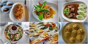 อาหาร ไข่เจียว - ให้เยอะมากทั้งใหญ่และหนา รสชาติอร่อยแบบไข่เจียวทั่วไป ฉู่ฉี่ปลาเนื้ออ่อน - ทอดกรอบมากินได้ทั้งตัว อร่อยดีออกหวานไปนิด เนื้อตุ๋น - เฉยๆ ต้มยำปลา - เนื้อปลาให้เยอะ น้ำอร่อยเผ็ดไปนิด กุ้งเผา - ที่อยุธยานี่สั่งกุ้งเผาไม่มีผิดหวัง กุ้งเผาร้านยางเดี่ยวก็เช่นกัน ตัวใหญ่ เนื้อเหนียวแน่นเทียบที่ราคาตัวละ 700 บาทเท่าต้นน้ำ ขนาดตัวเนื้อเยอะกว่า/ยาวกว่า แต่มันที่หัวน้อยกว่า สุดท้ายห่อหมก เฉยๆ พริกแกงไม่หอมเท่าไหร่