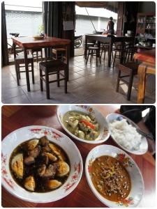 มื้อเช้ากินในเมืองศรีสัชนาลัย ร้านชาวบ้านถูกและอร่อยดี
