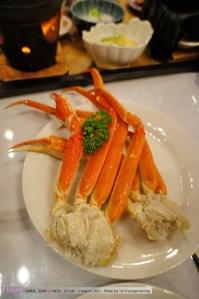 เค็มมาตรฐาน ปูทะเลนึ่งที่ไทยอร่อยกว่านะ