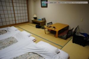 ห้องพักแบบญี่ปุ่นดั้งเดิม