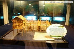 ห้องแสดงการใช้ชีวิตของชาวทะเล (ห้องเปลือกหอยก็เยอะ แต่ไม่ได้ถ่ายมาอีกแหล่ะ แหะๆ)