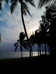 ครั้งหนึ่งเคยพักแถวนี้ บรรยากาศหาดบางแสนไร้ผู้คน