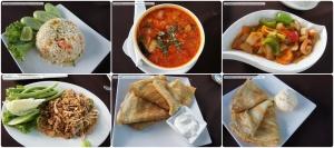 อาหารที่สั่ง (มาร้านแบบนี้ทำไมสั่งแต่อาหารไทยฟะ -*-) น่าแปลกที่แม่ครัวเขาทำอร่อยถูกลิ้นทั้งหมดเลยแฮะ (หรือเรามันลิ้นอินเตอร์ อิอิ)