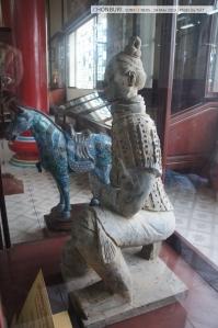 ที่ชอบที่สุดของที่นี่คือตุ๊กตาดินปั้นจากสุสานจักรพรรดิ เมืองซีอาน