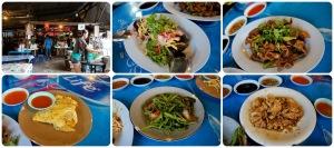 อาหารเร็วและอร่อย รวมทั้งหมดกับประมาณ 7-8 อย่าง 160 บาท (162 ลดให้ 160) ถูกมากมาย