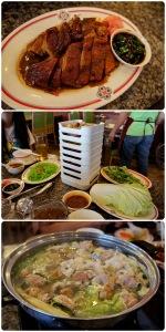 เป็ดย่างอร่อยไปอีกแบบ เป็นย่างสไตล์จีนดั้งเดิมมากกว่า (สังเกตุจากถั่วลิสง) ส่วนเครื่องสุกี้ไม่สดเท่าไหร่ น้ำซุปอร่อยดี