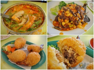อาหารดูดีและอร่อย แต่ไก่ยัดไส้เฉยๆนะ ราคาประมาณ 500 บาทถือว่าปกติ