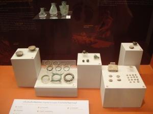 พวกเครื่องใช้สมัยโลหะเมื่อประมาณ 2500ปีมาแล้ว