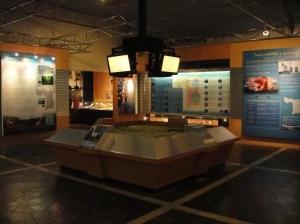 มุมความรู้ของปตท.ซึ่งเป็นผู้สนับสนุนหนึ่งในการสร้างพิพิธภัณฑ์นี้