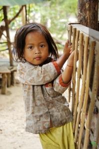 เด็กน้อยชาวเขมร
