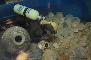 แหล่งโบราณคดีที่มาจากใต้ทะเล