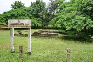 โบราณสถานในเมืองโบราณสีมโหสถที่พอดูได้