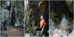 มีทางให้เลือก 3 ทางคือ ถ้ำพระ - ถ้ำพญานาค - ถ้ำเลียงผา เลือกไปแค่อันเดียว อันนี้ถ้ำพระครับ