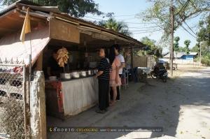 แวะกินข้างทางในเมืองเชียงแสนมีเพิงเล็กๆอยู่ แบบนี้แหล่ะได้รสแบบชาวบ้านดี