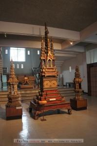 ซุ้มปราสาทเป็นศิลปะแบบพม่าที่แผ่เข้ามาในช่วงที่ปกครองล้านนา
