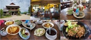 ทางแยกเข้าลำพูนมีร้านก๋วยเตี๋ยวไทยโบราณอยู่ข้างถนน ซึ่งก็อร่อยดีครับ ตอนแรกคิดว่าเป็นเพิงธรรมดา พอเข้าไปก็ร้านใหญ่เลยนี่นา